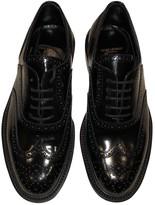 Saint Laurent Army Black Patent leather Lace ups