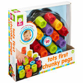 Alex First Chunky Pegs 20-Pc. Interactive Toy