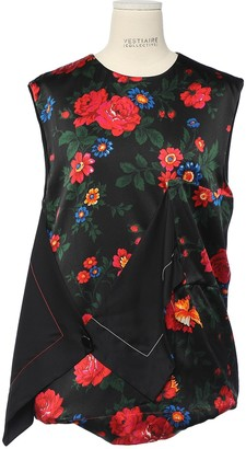 Celine Red Silk Top for Women
