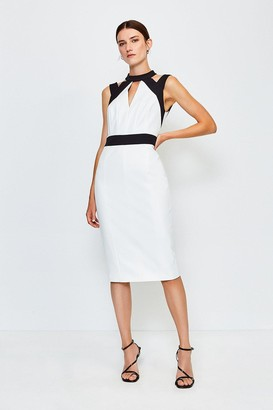 Karen Millen Cut Out Panelled Pencil Dress