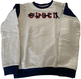 Gucci Beige Cotton Knitwear