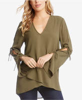 Karen Kane Double-Tie Wrap Top