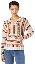 Thumbnail for your product : Rock and Roll Cowgirl Long Sleeve Stripe Hoodie with Pouch Pocket 48H8402