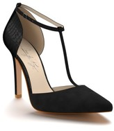Women's Shoes Of Prey D'Orsay T-Strap Pump