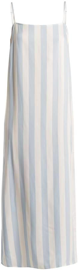 Mara Hoffman Sena square-neck striped dress