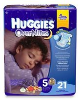 Huggies Overnites Diapers 21-Count Size 5 Jumbo Pack Diapers