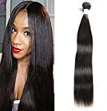 Miss CARA Indian Straight Virgin Human Hair Grade 7A Indian Virgin Hair Double Weft Extensions Straight Hair Weave 3 Bundles Natural Color (28 28 30)
