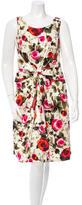 Kate Spade Sleeveless Floral Midi Dress w/ Tags