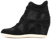 Ash Shoes The Bowie Bis Sneaker in Black Suede