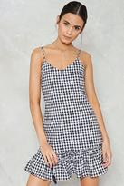 Nasty Gal nastygal Totally Checked Out Gingham Dress