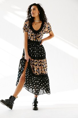 Free People Sun Chaser Midi Dress