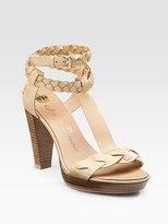 Gwen T-Strap Sandals