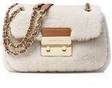MICHAEL Michael Kors Sloan Small Shearling Chain Shoulder Bag