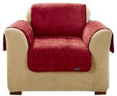 Sure Fit Deluxe Pet Cover For Chair-Burgundy