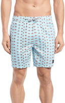Barney Cools &Sunday& Print Hybrid Shorts