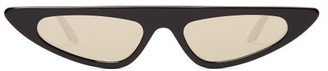 Cat Eye Andy Wolf - Florence Cat-eye Acetate Sunglasses - Womens - Black