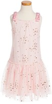 Kate Mack Toddler Girl's Star Print Tulle Dress