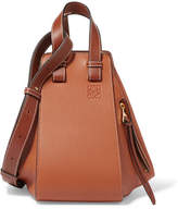 Loewe Hammock Small Textured-leather Shoulder Bag - Tan