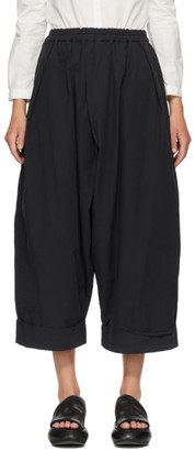 Toogood Black The Baker Trousers