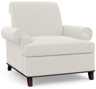 Bunny Williams Home Bunny Club Chair - Natural Linen
