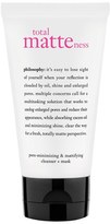 philosophy 'Total Matteness' Pore-Minimizing & Mattifying Cleanser + Mask