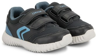 Geox Kids Front Strap Logo Sneakers
