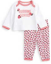 Kate Spade Infant Girl's Budding Genius Two-Piece Pajama Set
