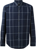 Theory Maxi Check shirt