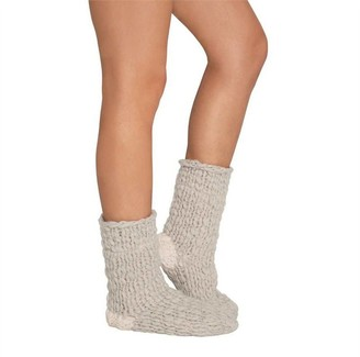 Eberjey Scout Slipper Sock Moonbeam/Ivory One Size