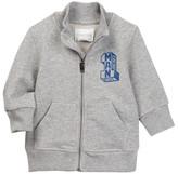 Diesel Stoib Long Sleeve Zip Sweater (Baby Boys)