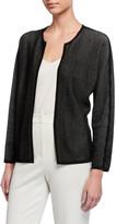 Eileen Fisher Silk/Organic Cotton Open Cardigan
