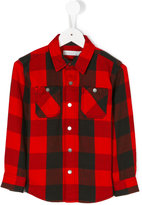 Stella McCartney classic checked shirt - kids - Cotton - 6 yrs