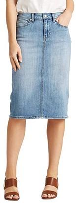 Lauren Ralph Lauren Denim Skirt (Indigo Haze Wash) Women's Skirt