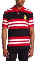 U.S. Polo Assn. Men's Multicolored Striped Polo Shirt