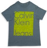 Calvin Klein Jeans Boys 8-20 Crewneck Tee
