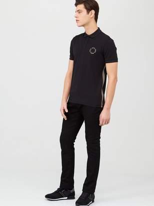 BOSS Paddy 8 Circle Logo Polo Shirt - Black