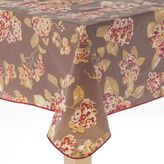 Cuisinart Hydrangea Peva Flannel-Back Tablecloth