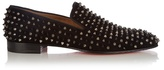 Christian Louboutin Dandelion suede spike loafers