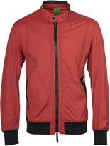 Ma.strum Dusk Orange Zip-through Blouson Jacket