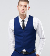 ONLY & SONS Skinny Waistcoat With Stretch