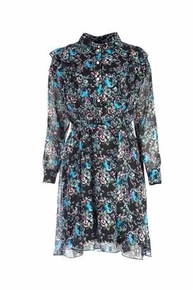 Moschino Boutique Printed Waist Belt Dress