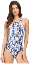 Jets Transcend High Neck One-Piece