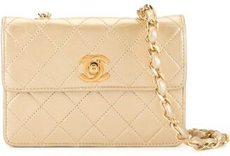 Chanel Pre Owned Single Chain Mini Shoulder Bag