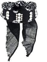 Dannijo Rocka studded bandana choker