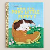 Cost Plus World Market Where Is the Poky Little Puppy?, a Little Golden Book