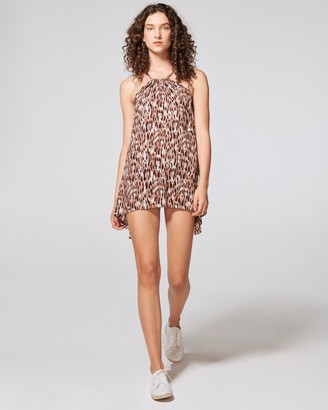 Vince Camuto Leopard-print Convertible Cover-up Dress