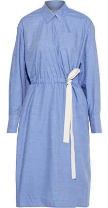 Jason Wu Cotton-chambray Wrap Dress