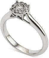 Macy's Diamond Engagement Ring (1/3 ct. t.w.) in 14k White Gold