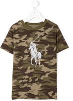 Ralph Lauren camouflage logo print T-shirt