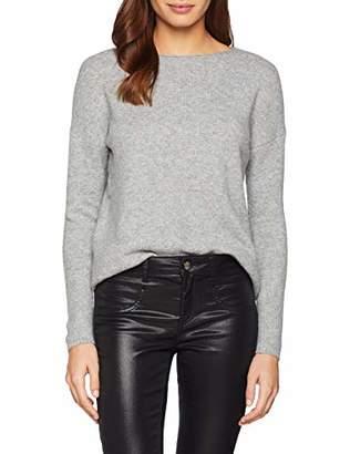 S'Oliver Women's 14.811.61.5337 Jumper, (Silver Grey Melange Knit 97x0), 16 (Size: )